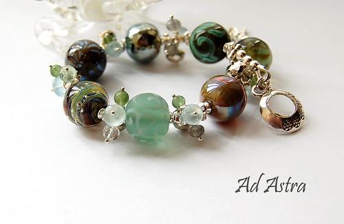 Ad Astra Bracelet by gemwaithnia
