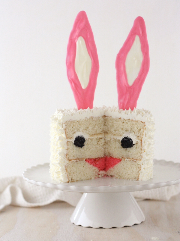 Bunny Surprise Cake from completelydelicious.com