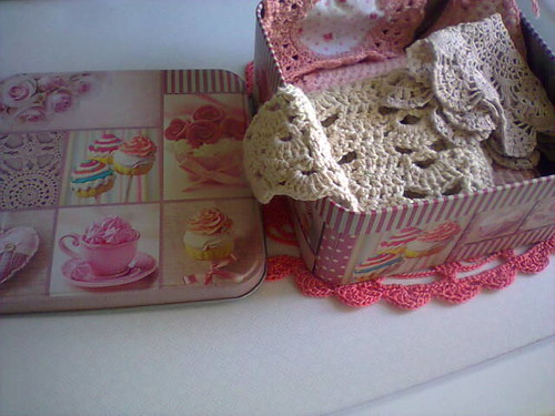 romantic box..crochet..