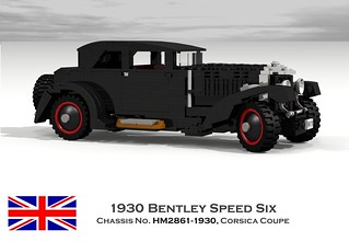 Bentley Speed Six Corsica Coupe - 1930