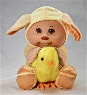 365 Days In Colour-Trevor Loves His Little Chick.