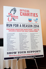 2013-2014 Run for a Reason Charity Luncheon