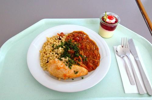 Hühnerbrust Orient mit Mandeln, Kidneybohnen & Zimt - Oriental chicken breast with almonds, kidney beans & cinnamon