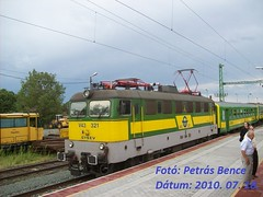GySEV V43 321 Bük, 2010. 07. 18.