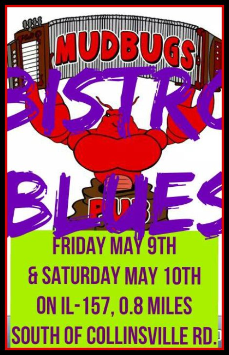 Bistro Blues 5-9, 5-10-14