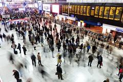 London Waterloo at Rush Hour