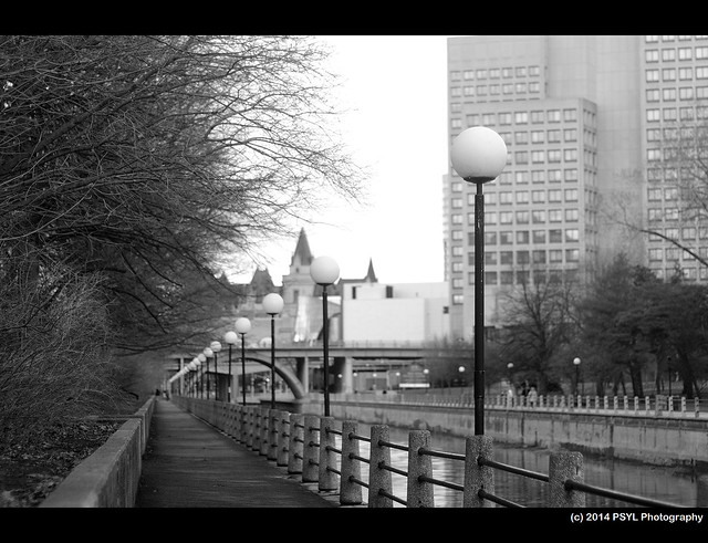 Along Rideau Canal