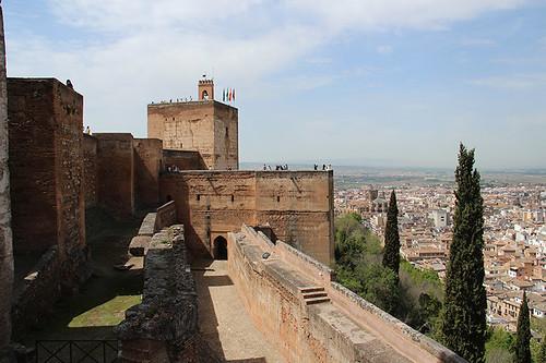 Alhambra watchtower
