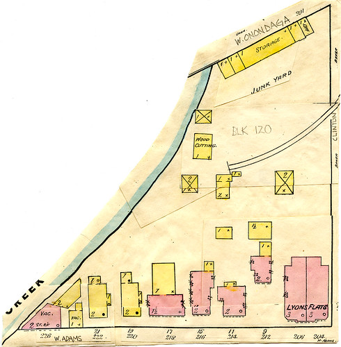 Blk 120 - 1890 Sanborn Map