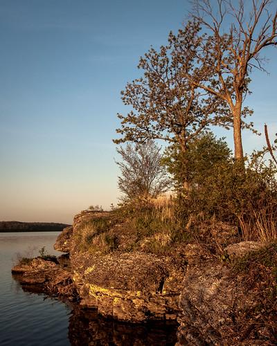 lake sunrise dawn boulder mo missouri limestone leessummit bethanyfalls jacomo lakejacomo flemingpark