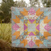 Cosmic Burst Quilted 1 by Marci Girl Designs