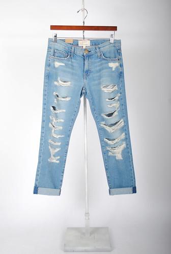 The Fling Tattered Skinny Jeans