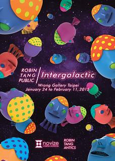 羅賓唐 Intergalactic「在星際間」於靠邊走藝術空間 個展