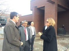 UBCO visit by Advanced Education Minister