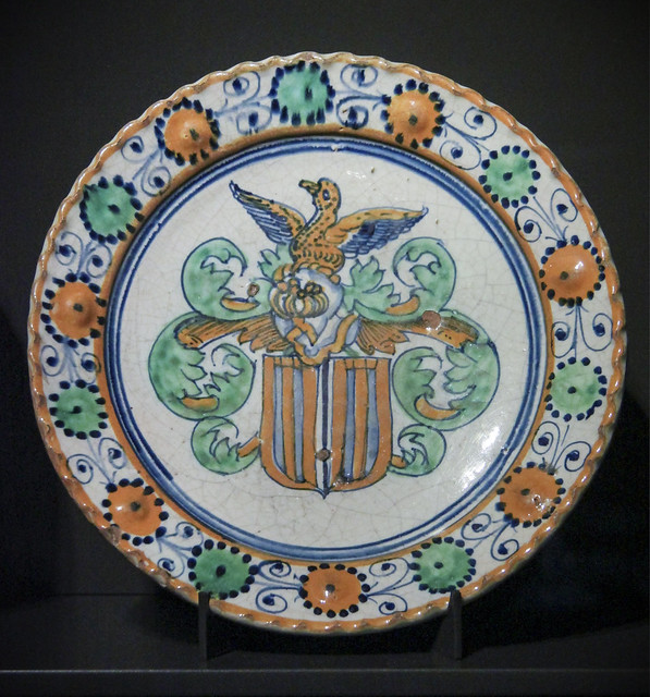 Ceramic plate/ charger