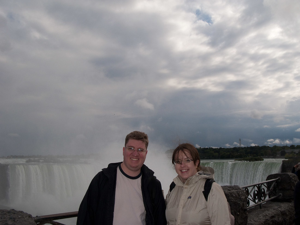 Ken and I at Niagara Falls