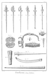 Modern Weapons, 1765