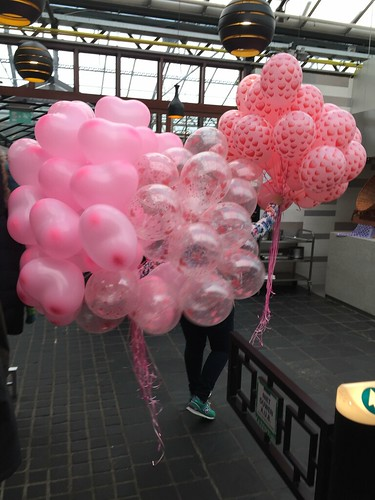 Heliumballonnen Liefde Valentijnsdag Watertuin