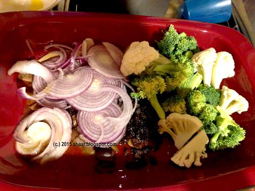 Saffron cauliflower