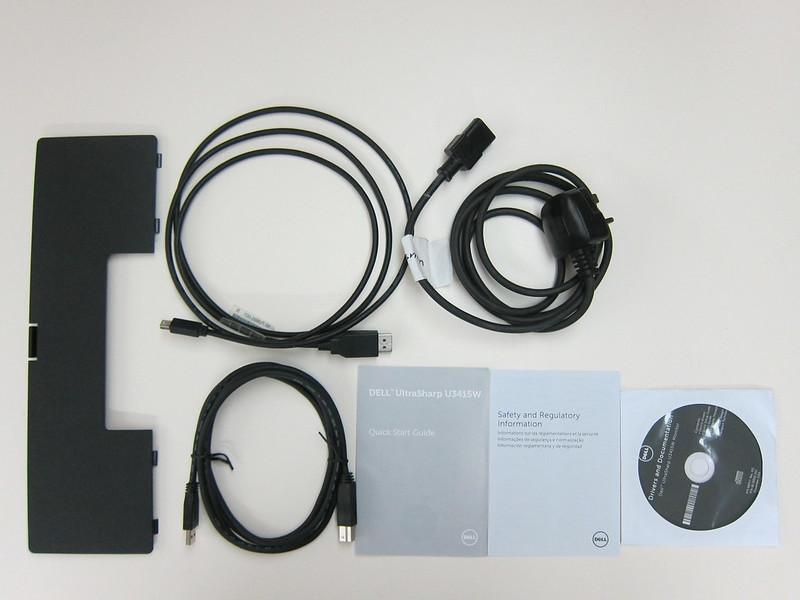 Dell UltraSharp 34 Curved Monitor (U3415W) - Accessories