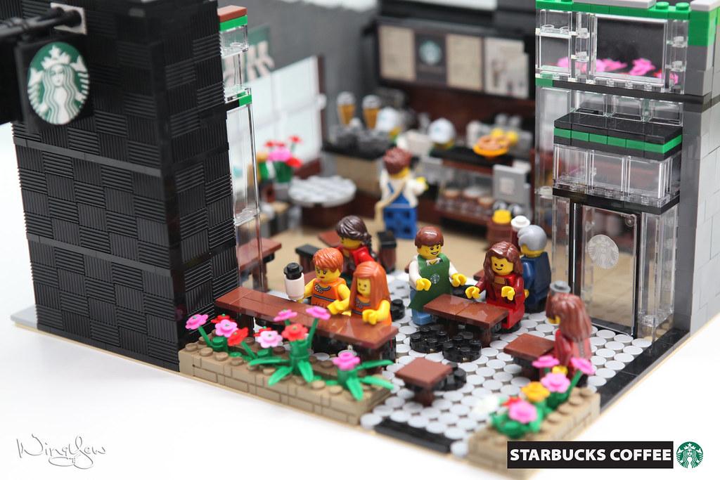 Lego MOC Starbucks Cafe (10) | Support LEGO IDEAS: ideas leg… | Flickr