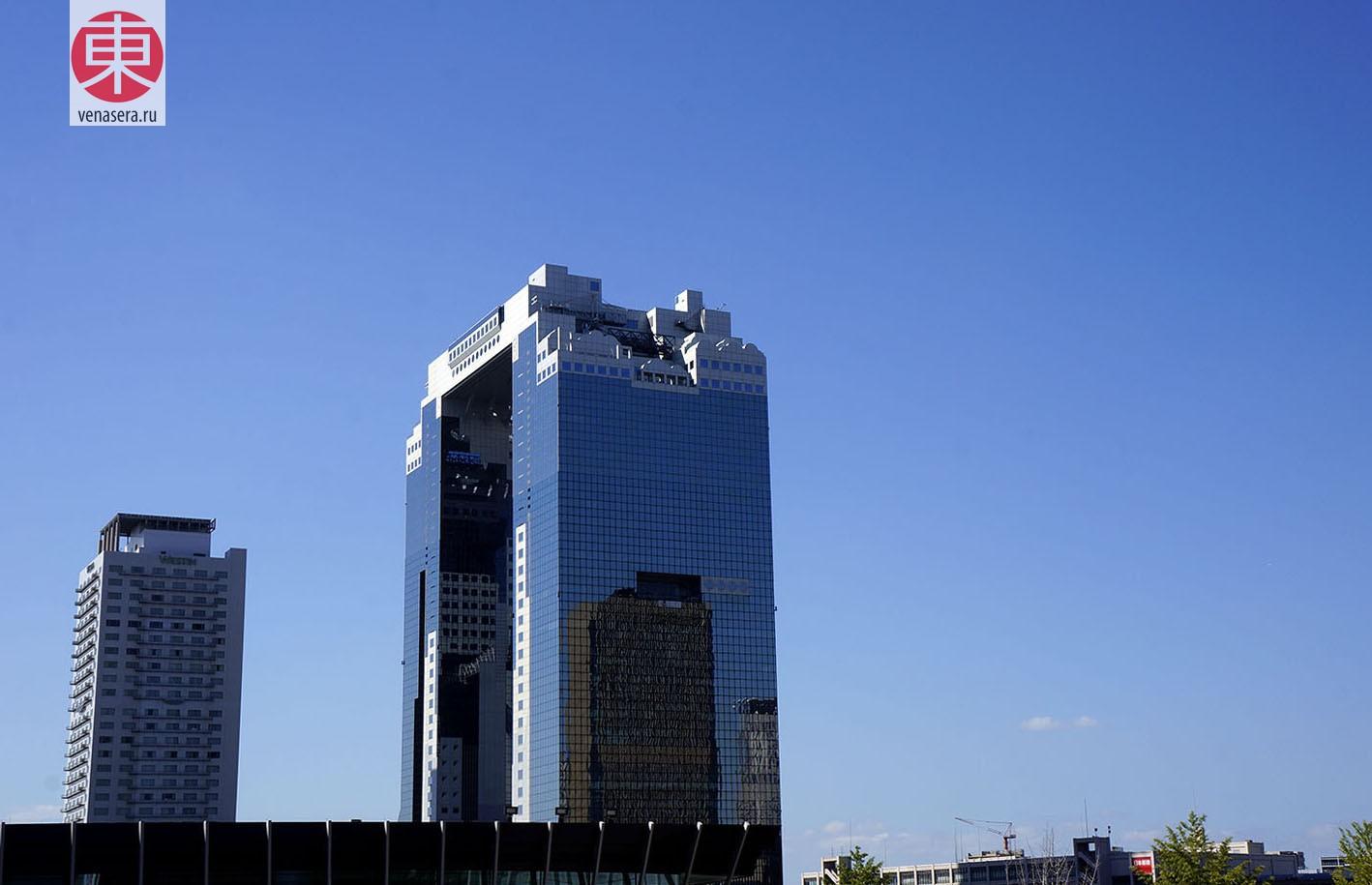 Umeda Sky Building, Осака, Япония, Japan, Osaka, Умэда