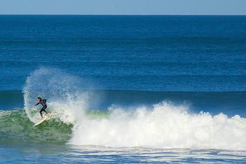 ocean beach surf florida surfer surfboard wetsuit indialantic