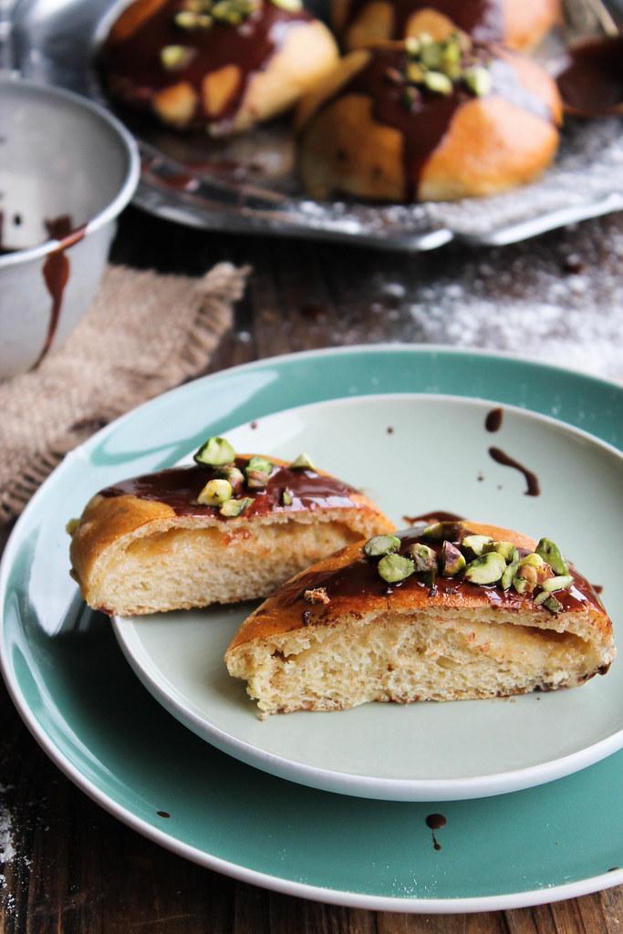 Brioches crème pâtissière