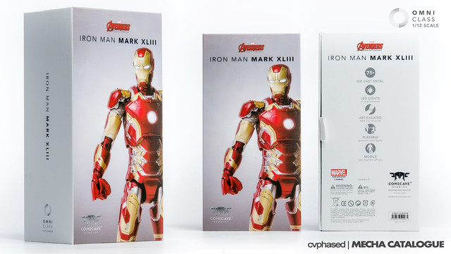 Comicave Studios - Omni Class 1/12 Iron Man Mark 43 Packaging