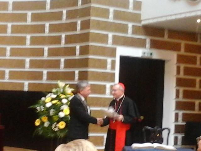 Kardināls Pjietro Parolins viesojas Latvijas Universitatē