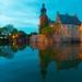 Blue Hour around Gemen Castle by MaiGoede