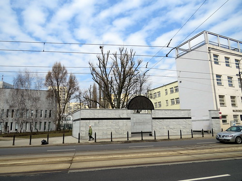 Umschlagplatz  Warsaw Ghetto memorial - Warsaw, Poland - Warszawa, Polska