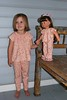 Comfy PJ's for little girls and dollie's