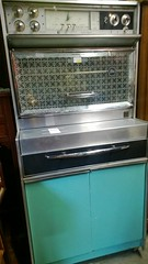 refrigerator(0.0), kitchen stove(0.0), kitchen appliance(1.0), room(1.0),