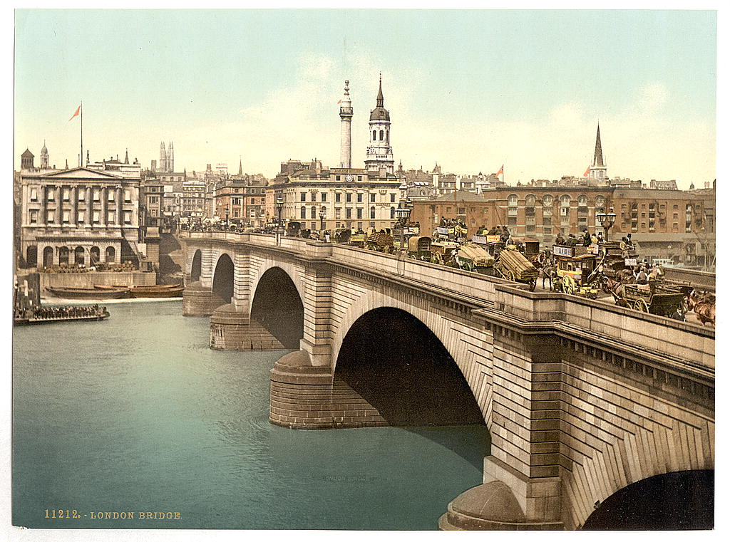 [London Bridge, London, England] (LOC)
