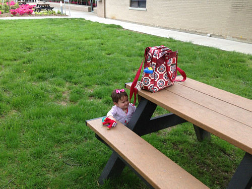 Mommy's favorite lunch spot