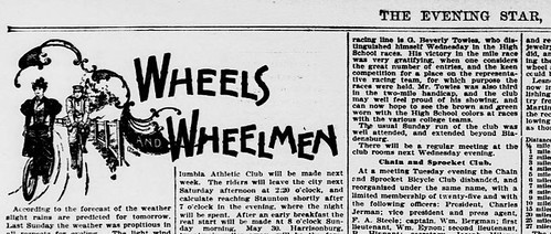Wheels and Wheelmen