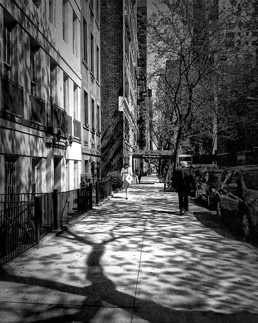 •West 55th Street• #nyc #sidewalkstories #tina_bw #mono_street #bwcenter #bwfever #streetbw #hubbw #artphoto_bw #bwlovers #monoart #bws_worldwide #streetphoto_fav #streetwalker_069 #bws_artist_usa #bws_streets #bnw_life #irox_bw #streettogs #street_photog