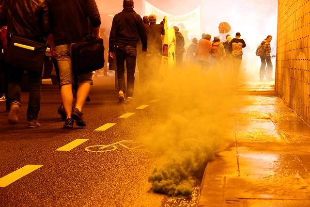 Blockupy-Warm-Up Demonstration