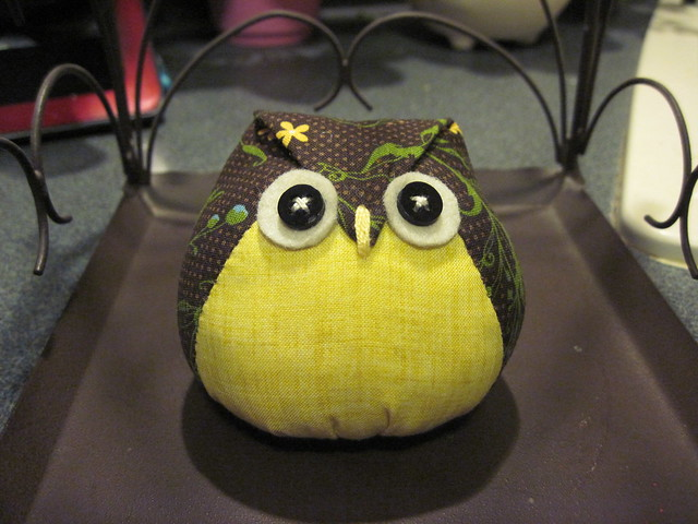 Stuffed Owl~Handmade
