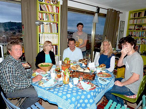 dîner steve et diane