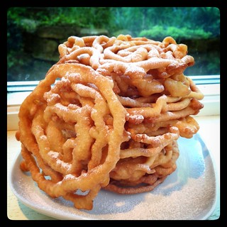 how to make funnel cake without eggs