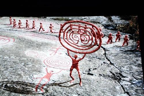 hällristningar på bronsåldern