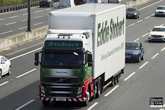 Volvo FH 6x2 Tractor - PX11 BYD - Tamsin Helen - Eddie Stobart - M1 J10 Luton - Steven Gray - IMG_8753
