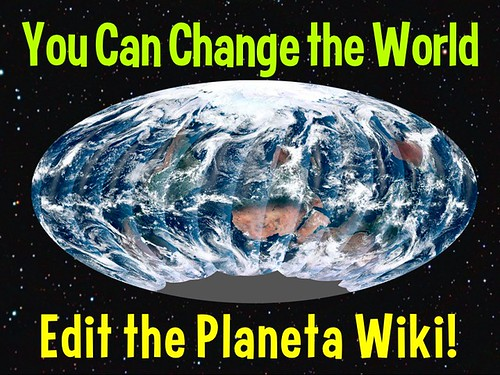 You Can Change the World, Planeta Wiki