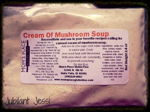Mom's Place gluten-free soup mix