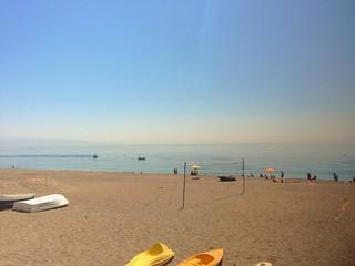 Bild av Lido Sole Luna Stranden med en längd på 1125 meter. uploaded:by=flickrmobile flickriosapp:filter=nofilter