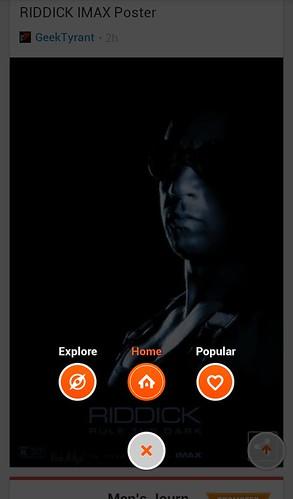 Rockmelt для Android