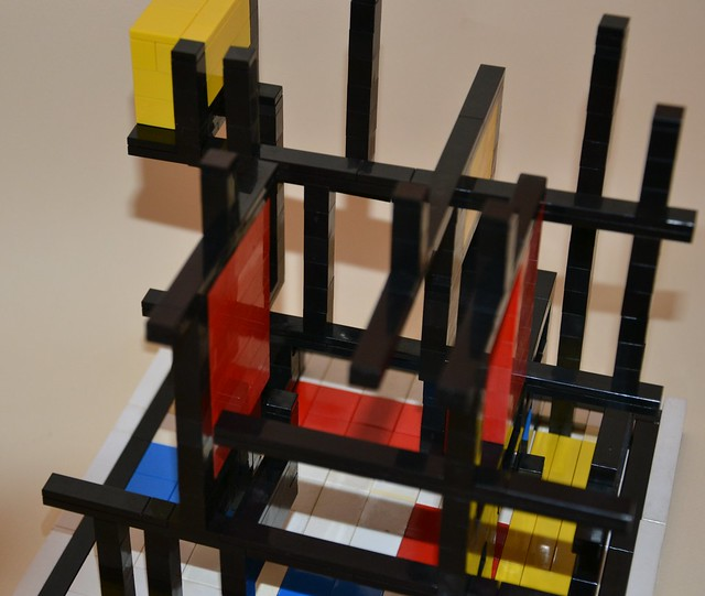 Inside the Cube of Mondrian