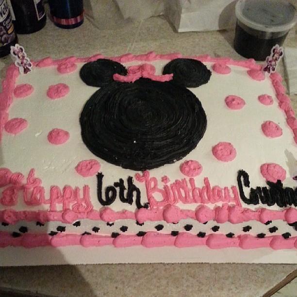 Birthday Cake For Courtney
